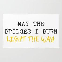 Burnt Bridges Rug