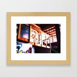 Abandoned Brewhouse  Framed Art Print