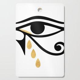 ALL SEEING CRY - Eye of Horus Cutting Board
