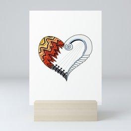 Heartstrings Mini Art Print