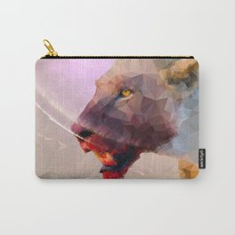 Feast of the Low Poly Lion Pride Carry-All Pouch