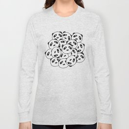 Pandamonium (Patterns Please Series #2) Long Sleeve T-shirt