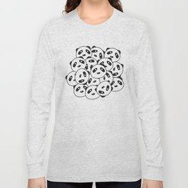 Pandamonium (Patterns Please Series #2) Long Sleeve T-shirt