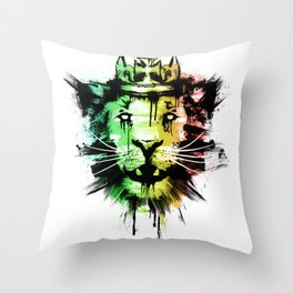 Tuff Gong Throw Pillow