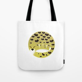 Leopard changing his spots Tote Bag