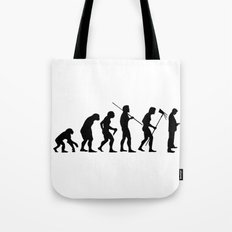 Evolution to Mobile  Tote Bag