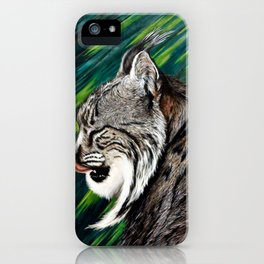 lince-iberico iPhone Case