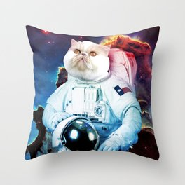 Space Seymour Throw Pillow