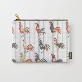 Modern Farmhouse Rooster Carry-All Pouch