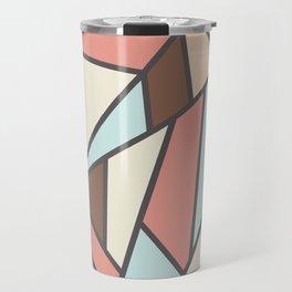 Geometric Colour Pattern V2 Travel Mug