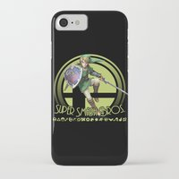 smash bros iPhone & iPod Cases featuring Link - Super Smash Bros. by Donkey Inferno