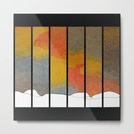 Sunfall Metal Print