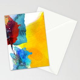 first spring messengers Stationery Cards