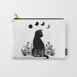 Night Garden Cat Carry-All Pouch