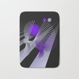 go violet -10- Bath Mat