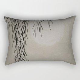 Willow in the moonlight Rectangular Pillow