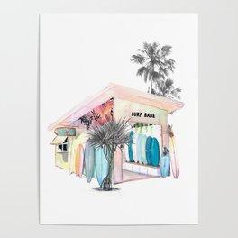 The Little Surf Shop Poster