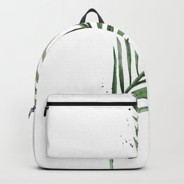 Palm Leaf Illustration Backpack