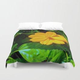 Large-flower Tickseed Duvet Cover