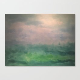 Valley of Dreams - Abstract nature Canvas Print