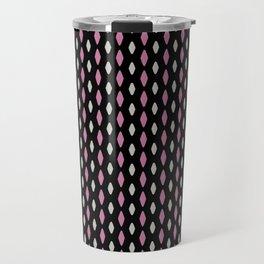 Curved diamonds Travel Mug