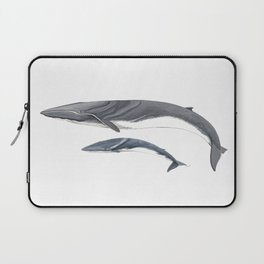 Fin whale Laptop Sleeve