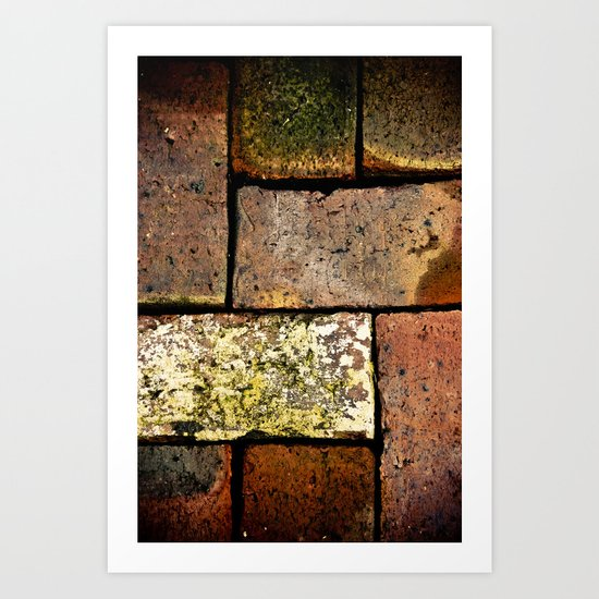 Brick Work Art Print
