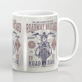 Vintage Motorcycle Poster Style Coffee Mug