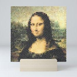 Mona Lisa - Leonardo Da Vinci. Mini Art Print