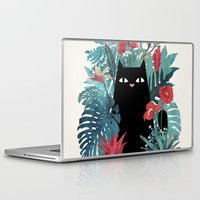 spring Laptop & iPad Skins featuring Popoki by littleclyde