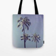 palm trees ver.retro Tote Bag