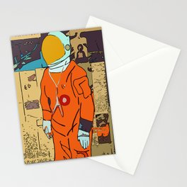 Reaching Space Stationery Cards