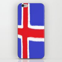 iceland iPhone & iPod Skins featuring Iceland by Katja_Gerasimova