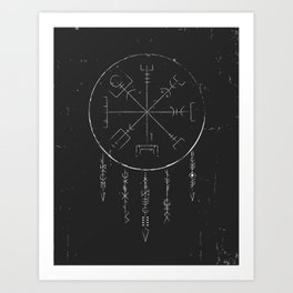 Rune Dreaming Art Print