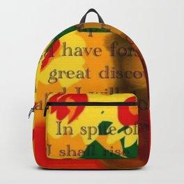 I WILL GO ON Backpack