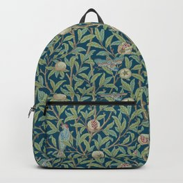 Birds and Pomegranates - William Morris Backpack