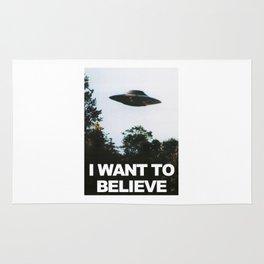 I WANT TO BELIEVE (ORIGINAL) Rug