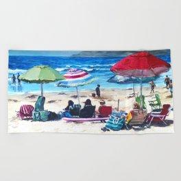 Coronado Beach Beach Towel