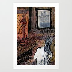 Museum No. 1 Art Print