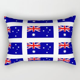 Flag of australia – Australia, Australian,oceania,aussie,oz,down under,sydney, canberra Rectangular Pillow