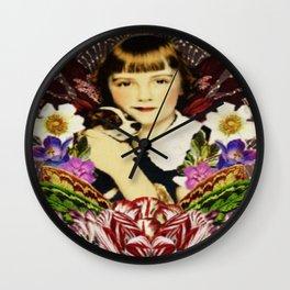 Amelie and Beau Wall Clock