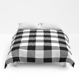 Gingham (Black/White) Comforters