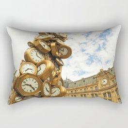 Time for All Rectangular Pillow