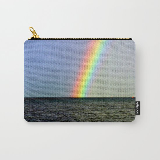 Pot of gold over the Bay Carry-All Pouch