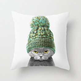 BOBBY Throw Pillow