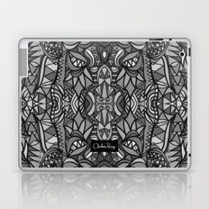 Roller Coaster Black and White Laptop & iPad Skin