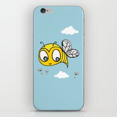 Happy Bumblebee iPhone & iPod Skin