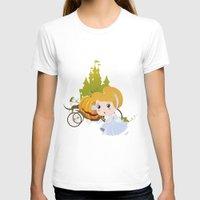 cinderella T-shirts featuring Cinderella by 7pk2 online