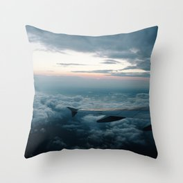 BOS -> DIA Throw Pillow