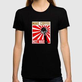 Japanese Propaganda Coffee Poster T-shirt